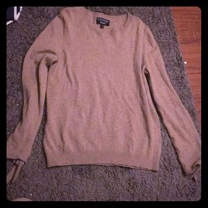 Banana Republic tan sweater size L